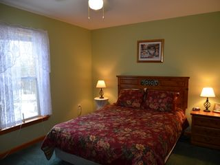 Conway house photo - Bedroom with queen bed, sleeps 2