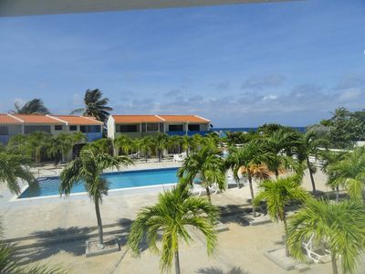 Bonaire condo rental - Balcony view 1