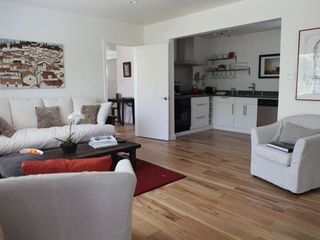 Venice Beach apartment photo - Living area through to open plan kitchen