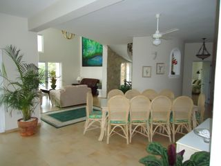 Playa Cofresi villa photo - inside dining area