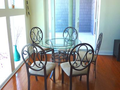 Wildwood Crest condo rental - dining table with 6 chairs