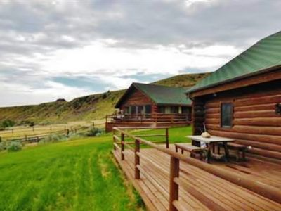 the amazing pin most cabins state rentals cabin airbnb every in wyoming