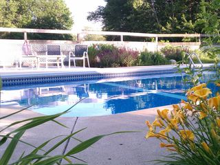 Wells house photo - Heated Pool - 18 x 36 With Additional 4 Foot Roman Ends (7 feet at deep end).