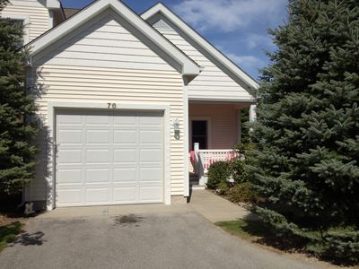 Manistee condo rental - Townhouse sytle condo with great Northern Michigan charm