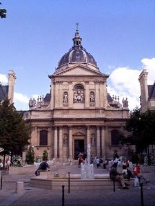 Eglise de la Sorbonne nearby