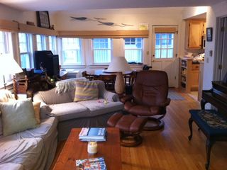 York Beach condo rental - Family Room