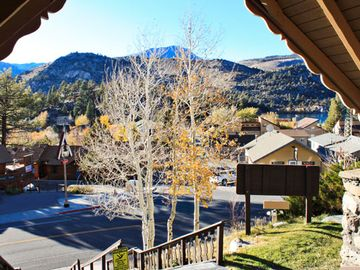 View from Resort Entrance at The Heidelberg Inn