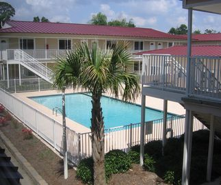 Biloxi condo rental - 1 of 2 Resort Swimming Pools just steps for condo.