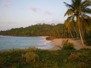 Samana villa photo - and its splendid semi-private sandy beach