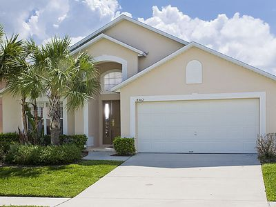 Spacious 4 bedroom 3 bath 1 floor pool home. Comfortably sleeps up to 8 guests.
