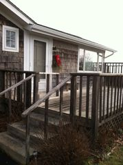 Outside in Winter - Montauk house vacation rental photo