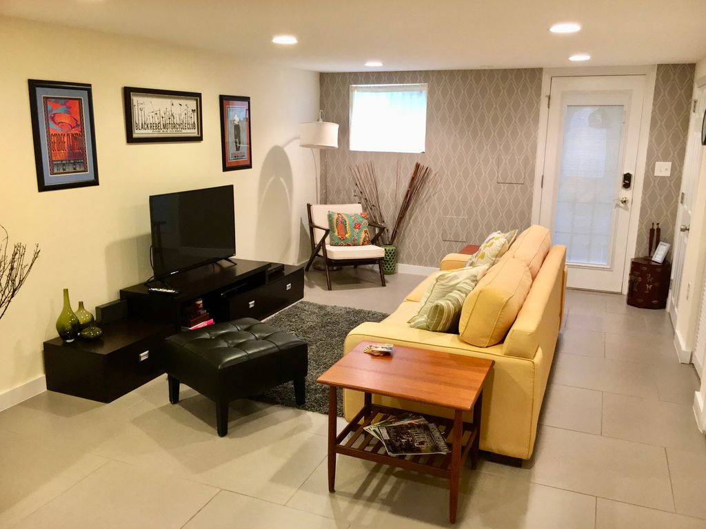 our light filled english basement apartment awaits you here in dc