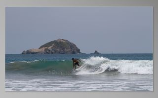 Manuel Antonio house photo - Surfing on Playitas beach