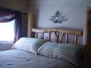 Missoula cabin photo - Bedrooms with Great Seeley mattresses