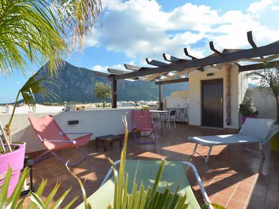 Mira3 San Vito Lo Capo apartment with terrace solarium