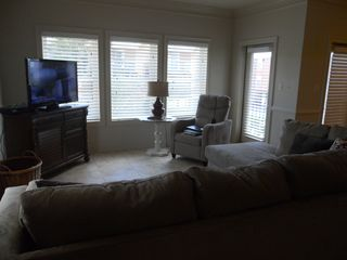 Gulf Shores property rental photo - living room with view of ocean