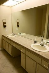 San Diego condo photo - Double sinks in this bathroom