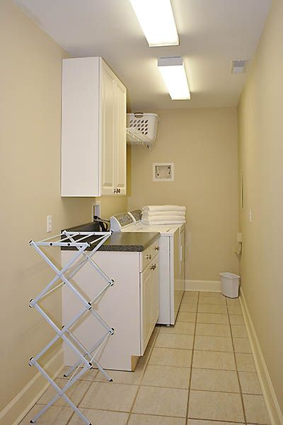 All moms appreciate a great laundry room......