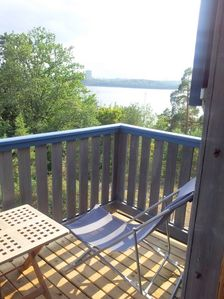 Stockholm cottage rental - Balcony