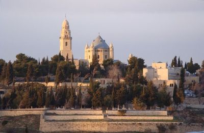Jerusalem area house rental - View of Old City from Apartment