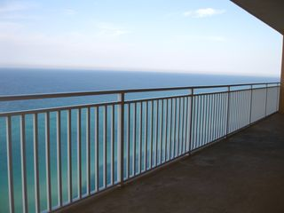 Splash Resort condo photo - Unrestricted views of the emerald waters from the balcony