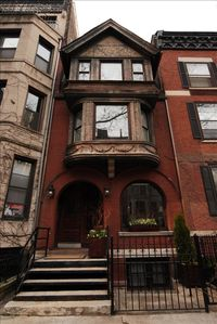 Exterior of Historic Brownstone. Apartment #3 is at the peak!