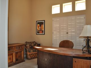 Scottsdale Troon house photo - Partial view of the 4th bedroom which is now the office. Single rollaway bed