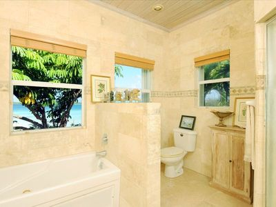 Governor's Harbour estate rental - Master Bath
