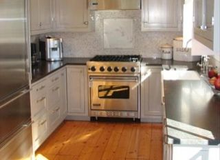 Surfside Nantucket property rental photo - The kitchen comes with top of the line Viking and Sub Zero appliances.