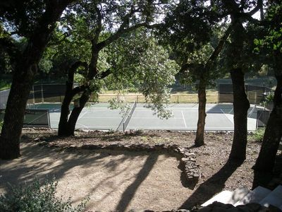 Glen Ellen estate rental - Tennis Court