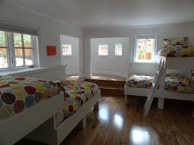 Bunk Bed room.  Sleeps 4.   Great for kids to get away.