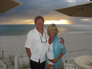 Vanderbilt Beach house photo - Sandie and Des welcome you to Paradise