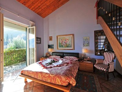 Menaggio villa rental - Bedrooms with lake or garden view