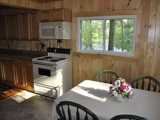 Edwards cabin photo - Morning Sun Streams Into the New Kitchen.