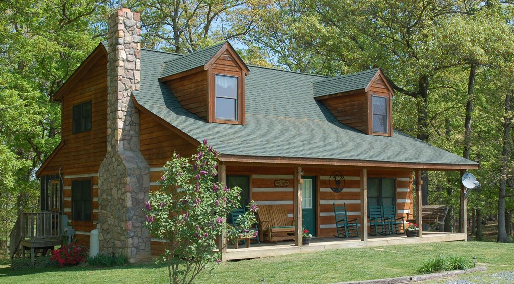 Beautiful Log Cabin With Gorgeous Mountain Views Vrbo