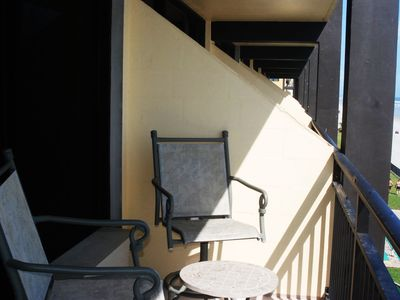 Hawaiian Inn Resort Condo Rental By Owner Balcony Seating