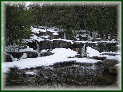 Diana's Baths during the winter. A great hike summer or winter.