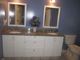 Dennis Village cottage photo - Double granite bathroom sinks