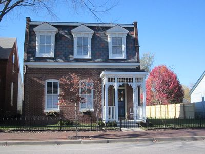 Historic Second Empire home was built in 1868. L'auberge St.Charles Guest House