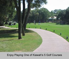 Kiawah Island villa photo - Kiawah offers 5 Golf Courses