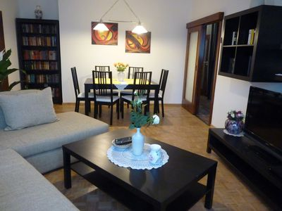 Large apartment with views of the Danube, just minutes to the Vienna Prater