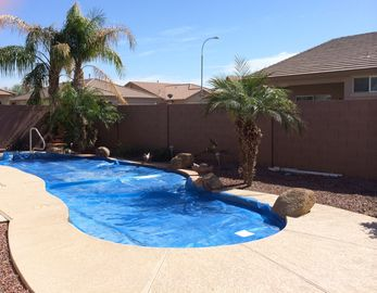 Avondale house rental - Solar heated pool with water features PLEASE NO DIVING Bobbing pool only!