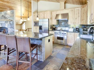 Tahoe Donner house rental - Chef's Kitchen