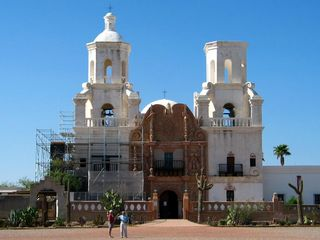 Tucson bungalow photo - San Xavier Mission - Tours available