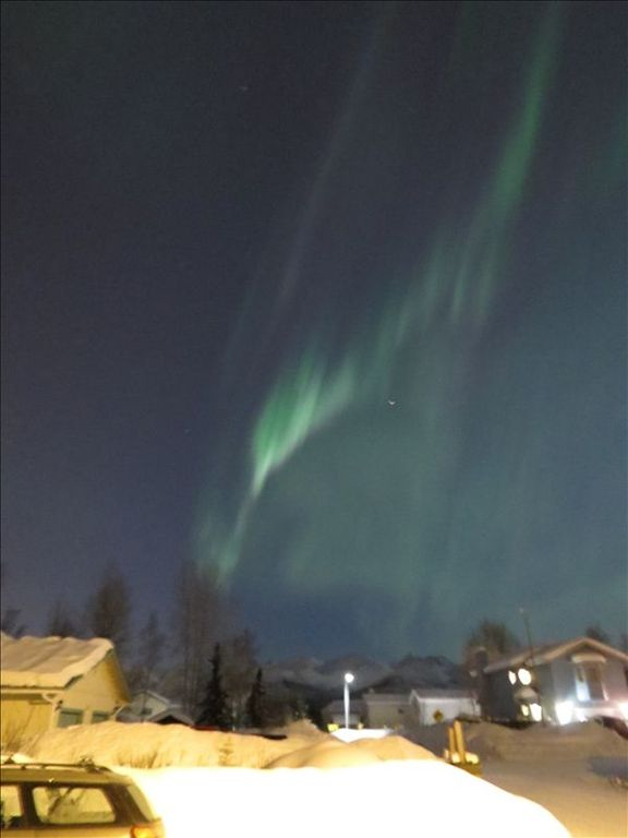 The Northern Lights from the property in March 2012.