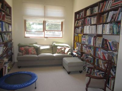Upstairs Library/sun room