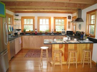Gayhead - Aquinnah house photo - View of kitchen from separate dining area