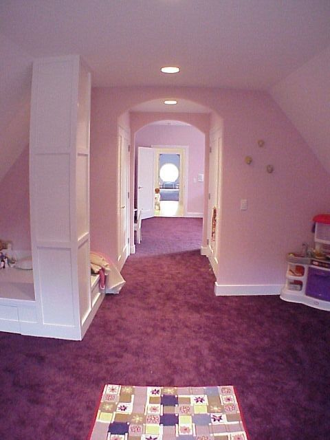 One of the upstairs kid's suites.