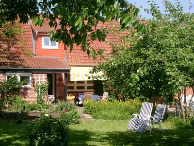 Feel-good house with large garden in a beautiful area near the Baltic Sea