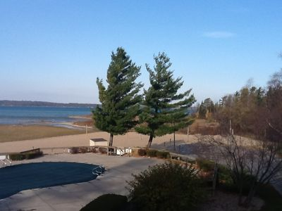 Traverse City condo rental - Windy day in Traverse City